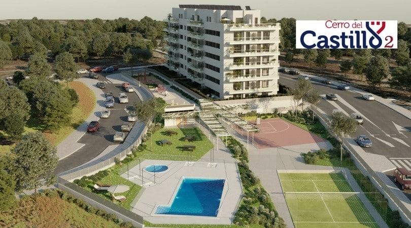 Residencial obra nueva Cerro Castillo 2 actívitas inversión inmobiliaria