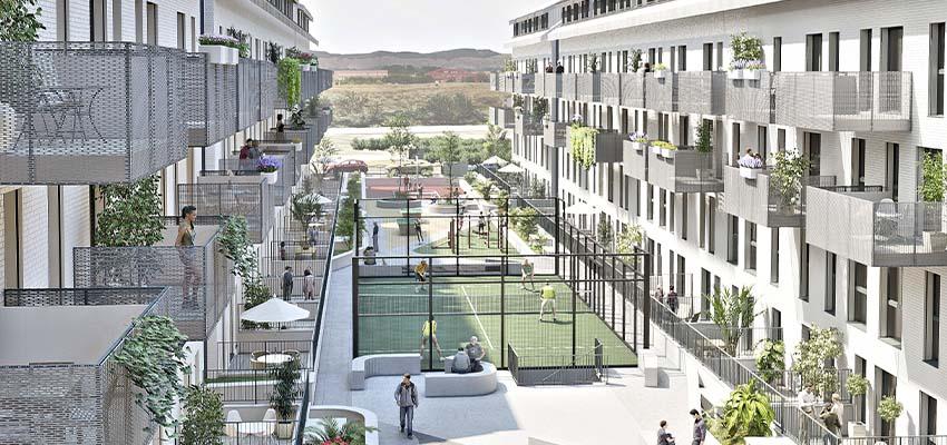 activitas - vivienda asequible - uso zonas comunes