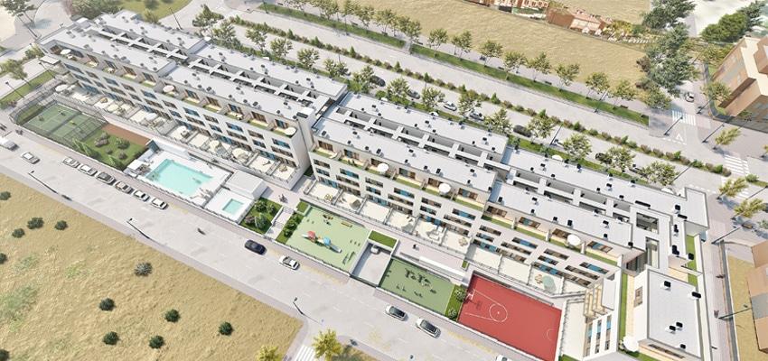 activitas - vivienda asequible - residencial el viso